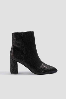 Na Kd Shoes Shimmery Structured Boots Black