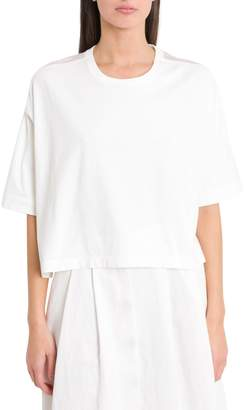 Forte Forte Forte_Forte Boxy Tee With Silk Back