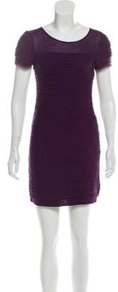 Diane von Furstenberg Tiered Silk-Blend Dress