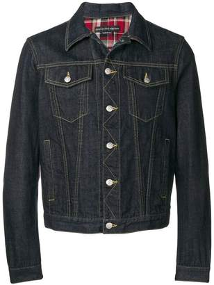 Alexander McQueen heavy denim jacket