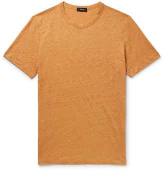 Theory Essential Mélange Linen T-Shirt
