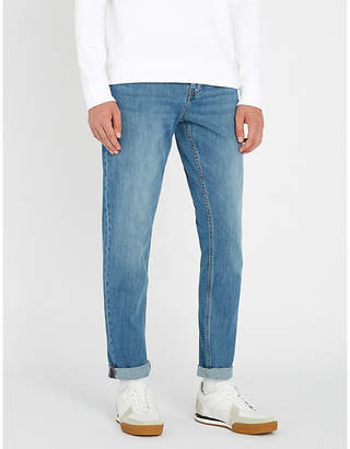 BOSS Tapered regular-fit jeans