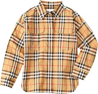 Burberry Sasha Check Woven Shirt