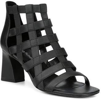 01393b9826b7 Donald J Pliner Women s Visto Strappy Cage Block Heel Sandals