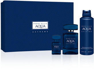 Perry Ellis 3-Pc. Aqua Extreme Gift Set $65 thestylecure.com