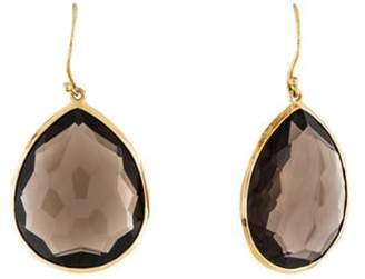 Ippolita 18K Smoky Quartz Rock Candy Large Teardrop Earrings yellow 18K Smoky Quartz Rock Candy Large Teardrop Earrings