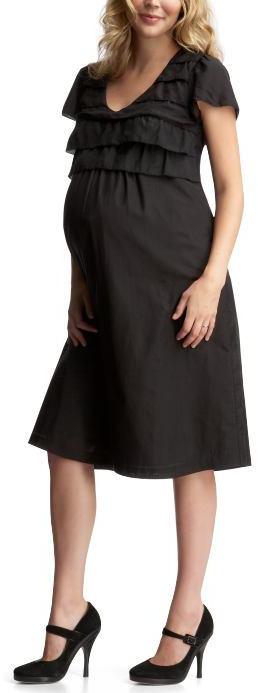 Tiered silk-blend dress