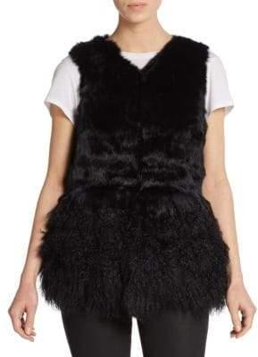 La Fiorentina Fox Fur & Shearling Vest