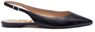 Sam Edelman 'Raya' leather slingback flats