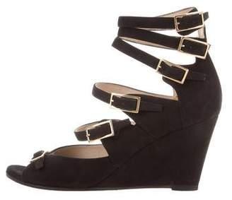 Chloé Suede Multi-Strap Sandals