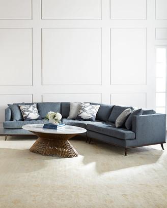 Ambella Capri Curved Sectional Sofa