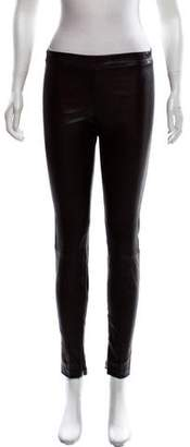 Vince Leather Skinny Leggings