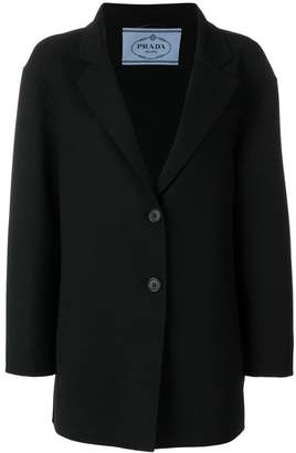 Prada longline masculine blazer