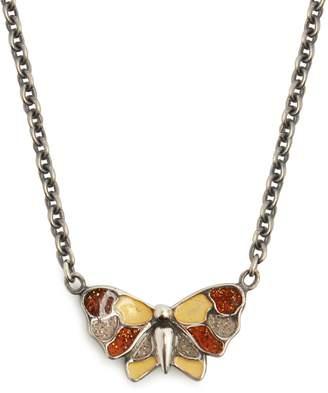 Bottega Veneta Butterfly pendant necklace