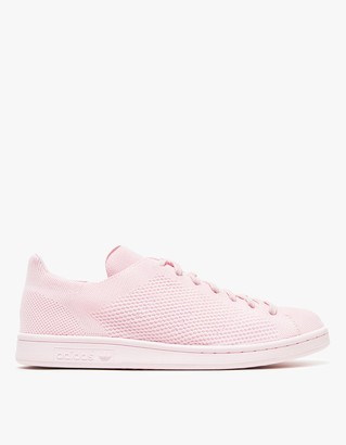 Stan Smith Primeknit in Pink $110 thestylecure.com
