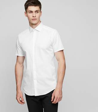 Reiss Gear Cotton Slim-Fit Shirt