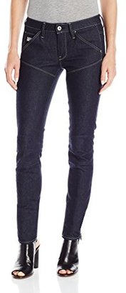 G-Star Raw Women's 5620 Mid Skinny Fit Jean in Legend Stretch Denim $160 thestylecure.com