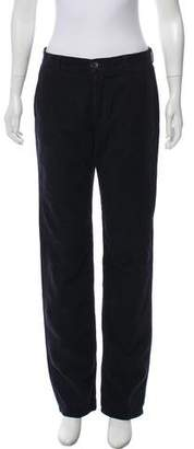 Givenchy Corduroy Mid-Rise Pants