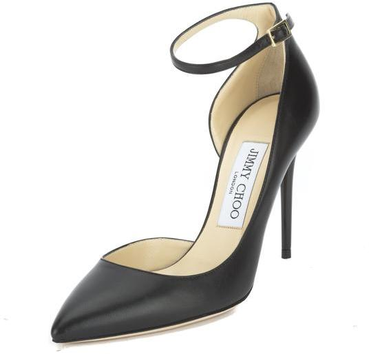 Jimmy Choo Jimmy Choo Black Lucy 100 Pump (New with Tags)