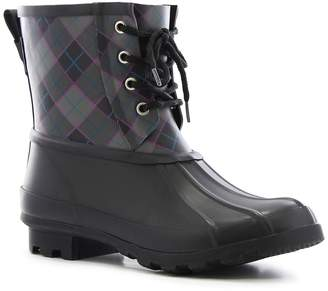 Western Chief Check Plaid Waterproof Duck Boot