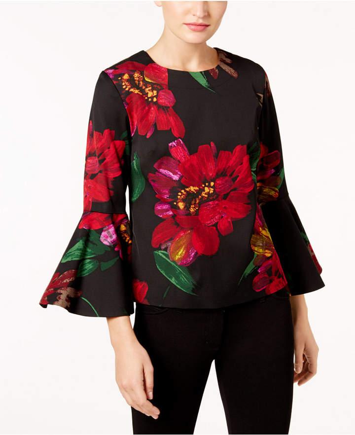 Trina Turk Splendid Bell-Sleeve Blouse