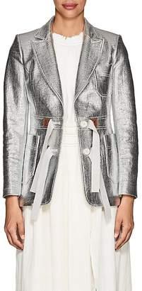 Altuzarra Women's Bastille Coated Tweed Jacket