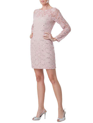 JS Collections Embellished Lace Dress