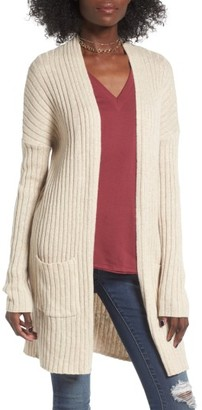Women's Bp. Rib Knit Cardigan $49 thestylecure.com