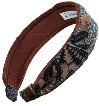 L. Erickson Two Tone Scarf Headband
