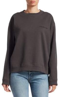 Helmut Lang French Terry Logo Sweatshirt