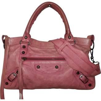 Balenciaga First leather handbag