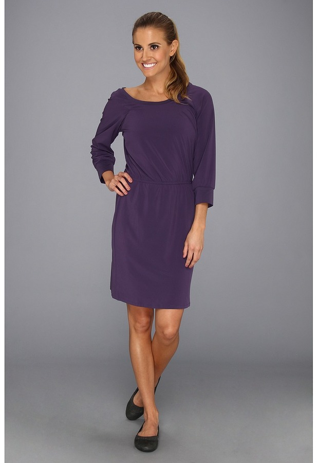 Columbia Global Adventure Long Sleeve Dress (Quill) - Apparel