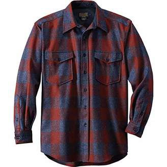 Pendleton Men's Long Sleeve Button Front Classic-fit Guide Shirt
