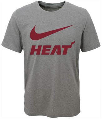 Nike Miami Heat Swoosh Team T-Shirt, Big Boys (8-20)