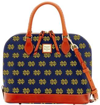 Dooney & Bourke NCAA Notre Dame Zip Zip Satchel