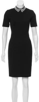 Jason Wu Short Sleeve Knee-Length Dress