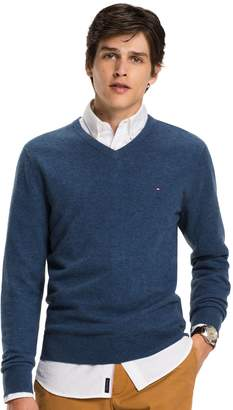 Tommy Hilfiger Lambswool V-Neck Sweater
