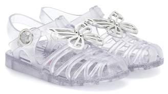 Sophia Webster Mini Riva embellished jelly sandals