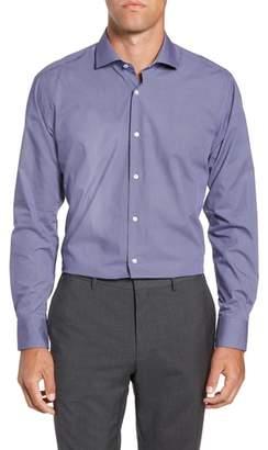 Ted Baker Strame Slim Fit Geometric Dress Shirt