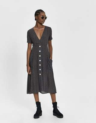 Liliana Farrow Short Sleeve Printed Dress