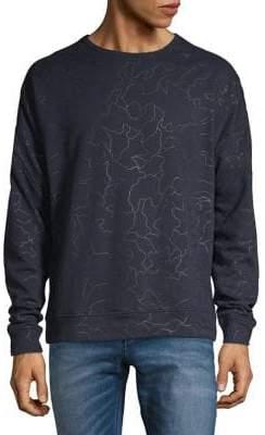 ASKYA Cotton-Blend Crew Neck Sweater