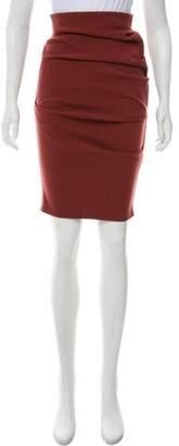 La Petite S***** Wool Knee-Length Skirt