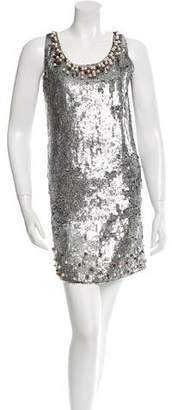 RED Valentino Sequined Mini Dress