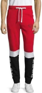 True Religion Colorblock Cotton Jogger Pants