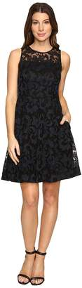 Donna Morgan Sleeveless Fit and Flare with Full Skirt Women's Dress