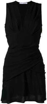 IRO wrap style mini dress