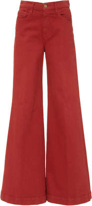Frame Le Palazzo High-Waisted Wide-Leg Jeans Size: 24