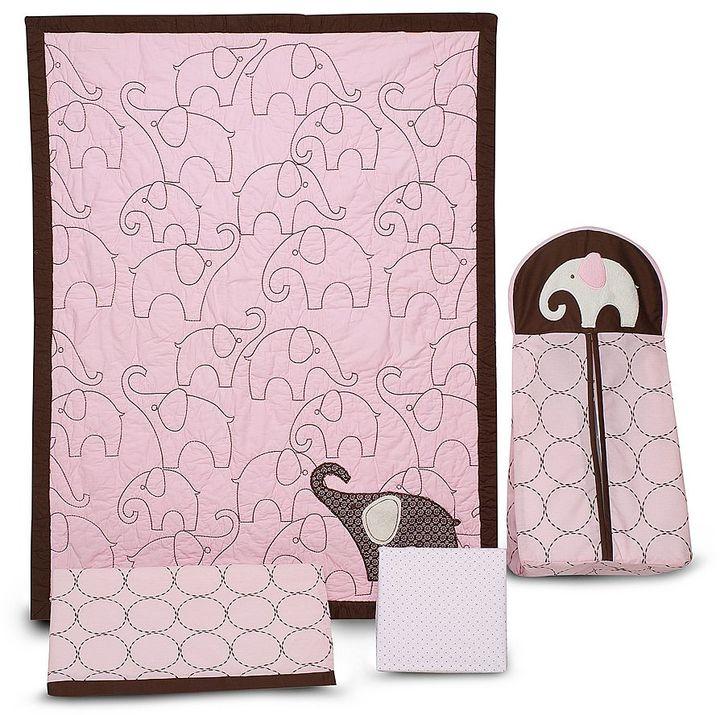 Carter'sCarters Carter's 4-pc. Elephant Crib Set - Pink