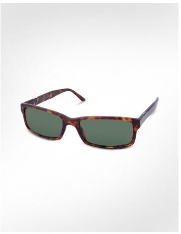Persol Rectangular Plastic Sunglasses