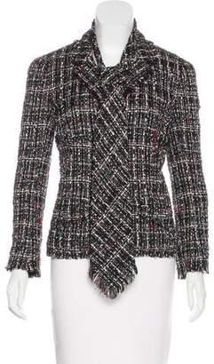 Chanel Tweed Fringe Blazer